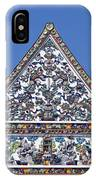Wat Ratcha Orasaram Ubosot Gable Dthb427 IPhone Case