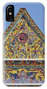 Wat Ratcha Orasaram Wiharn Gable Dthb862 IPhone Case