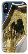Wat Sen Naga Heads IPhone Case