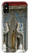 Wat Suan Phlu Ubosot East Portico Dthb1133 IPhone Case