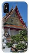 Wat Thong Nopphakhun Ubosot Dthb1169 IPhone Case