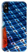 Water Bottle On A Blanket IPhone Case