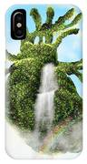 Water From The Heart IPhone Case