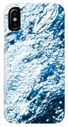 Water In A Pool Which Lock Like A Frozen Water Stream Of A River IPhone Case