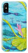 Water Lilies Panorama IPhone Case