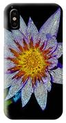 Water Lilly Paint IPhone Case