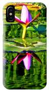 Water Lily Pond Garden Impressionistic Monet Style IPhone Case