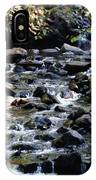 Water Over Rocks IPhone Case