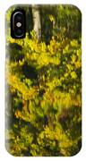 Water Reflection Abstract Autumn 1 G IPhone Case