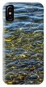 Water Ripples And Reflections On Lake Huron IPhone Case