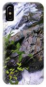 Water Running Down Ledge IPhone Case