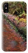Water Trail IPhone Case