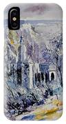 Watercolor Dinant 110172 IPhone Case