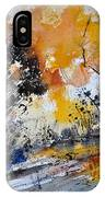 Watercolor211020 IPhone Case