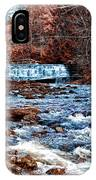 Waterfall Along A Mountain Stream IPhone Case