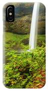 Waterfall Along The Trail IPhone Case