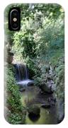 Waterfall In Prospect Park IPhone Case
