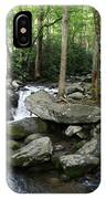 Waterfall In Stream IPhone Case