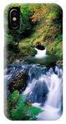 Waterfall In The Woods, Ireland IPhone Case