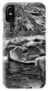 Waterfall Mono IPhone Case
