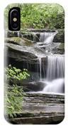 Waterfall Near Mabbitt Spring IPhone Case