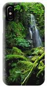 Waterfall, Sloughan Glen, Co Tyrone IPhone Case