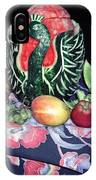 Watermelon Swan IPhone Case