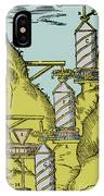 Watermill Reversed Archimedean Screw IPhone Case