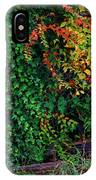 Watershed Park Foliage IPhone Case