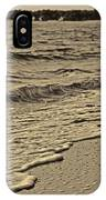 Waves At The Beach IPhone Case