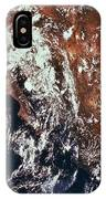 Weather Patterns Over Earth IPhone Case