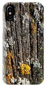 Weathered Post IPhone Case