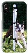 Weave Pole Wonder IPhone Case