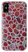 Web Of Red Resin IPhone Case