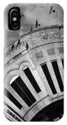 Wee Bryan Texas Detail In Black And White IPhone Case