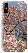 Weeping Cherry Tree In Bloom IPhone Case