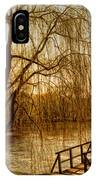 Weeping Willow And Bridge IPhone Case