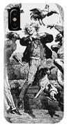 Weightlessness, 19th Century IPhone Case