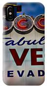 Welcome To Fabulous Las Vegas 2 IPhone Case