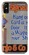 Wells Fargo Banner, 1914 IPhone Case