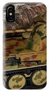 Wespe 105 Mm Self-propelled Gun IPhone Case