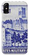 West Point Postage Stamp IPhone Case