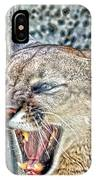 Western Cougar IPhone Case