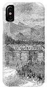 Western Fort, 19th Century IPhone Case