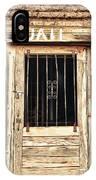 Western Jail House Door IPhone Case
