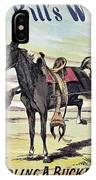 W.f. Cody Poster, C1885 IPhone Case