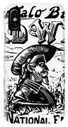 W.f. Cody Poster IPhone Case