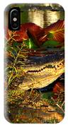 What Lurks On The Swamp IPhone Case