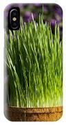 Wheat Grass IPhone X Case