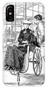 Wheelchair, 1886 IPhone Case